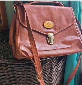 Vintage Italian leather bag